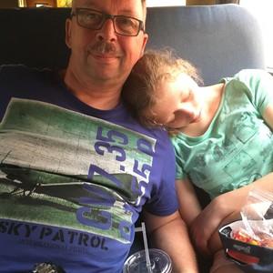 Van camper naar trein - Dag 12 - Foto