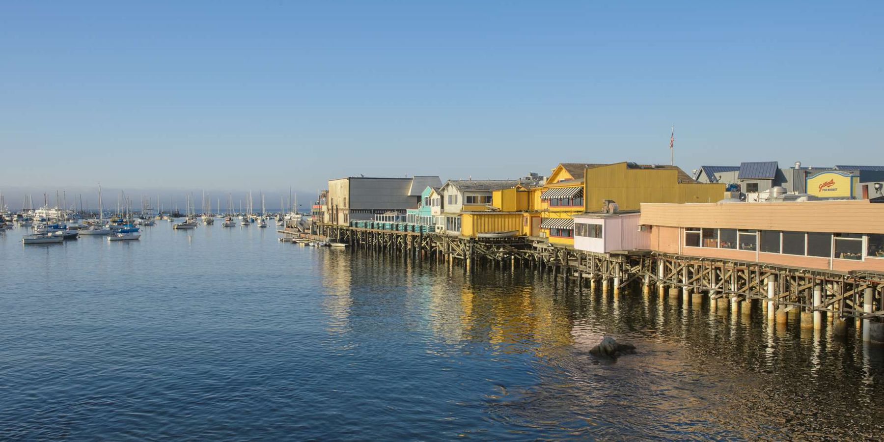 Fishermans Wharf - Monterey - California - Amerika - Doets Reizen