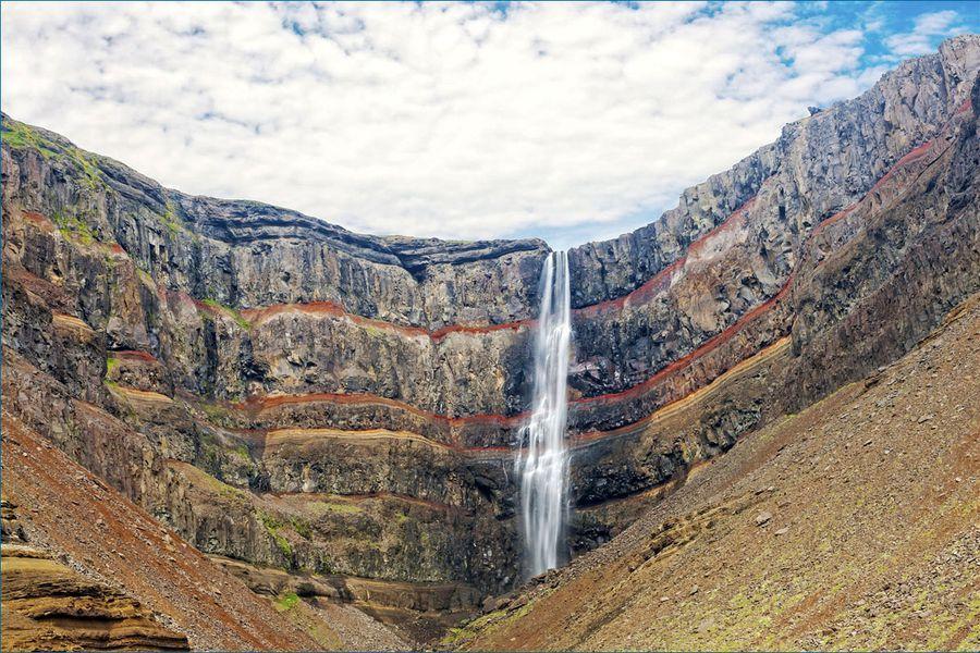 Litlanesfoss en Hengifoss - IJsland - Doets Reizen