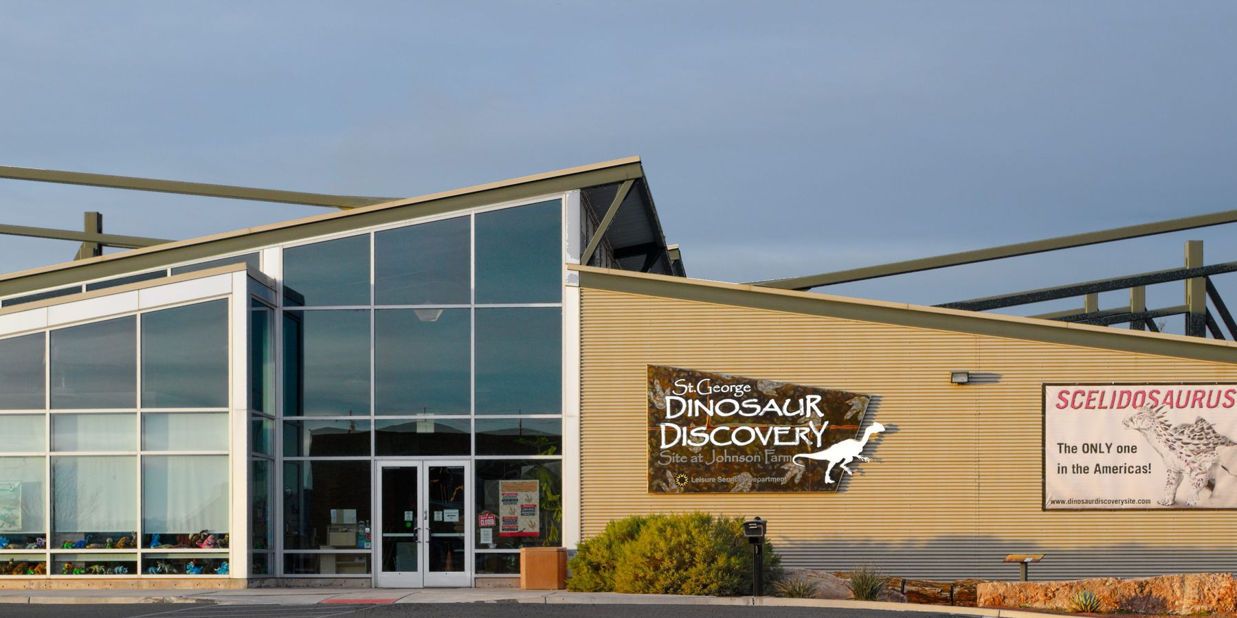 St. George Dinosaur Discovery Site - Utah - Doets Reizen