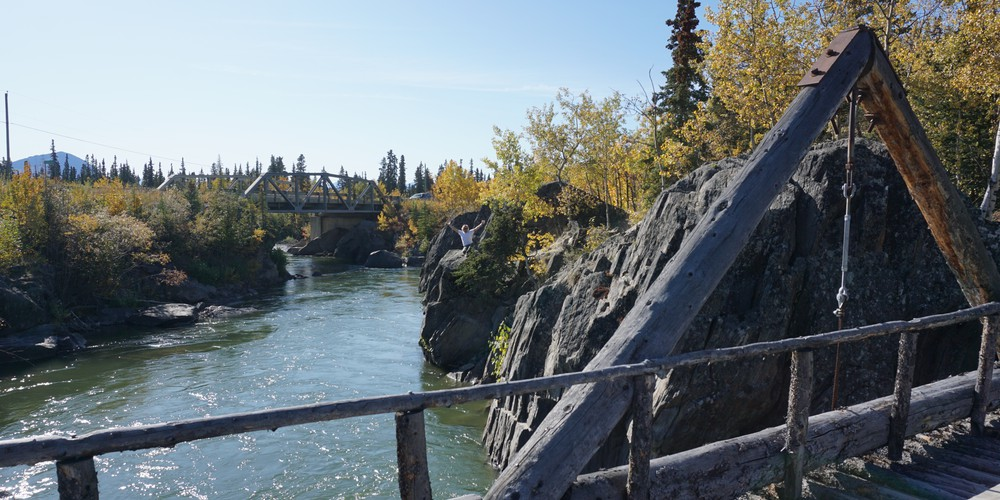 Canyon Creek Bridge - Haines Junction - Yukon - Canada - Doets Reizen
