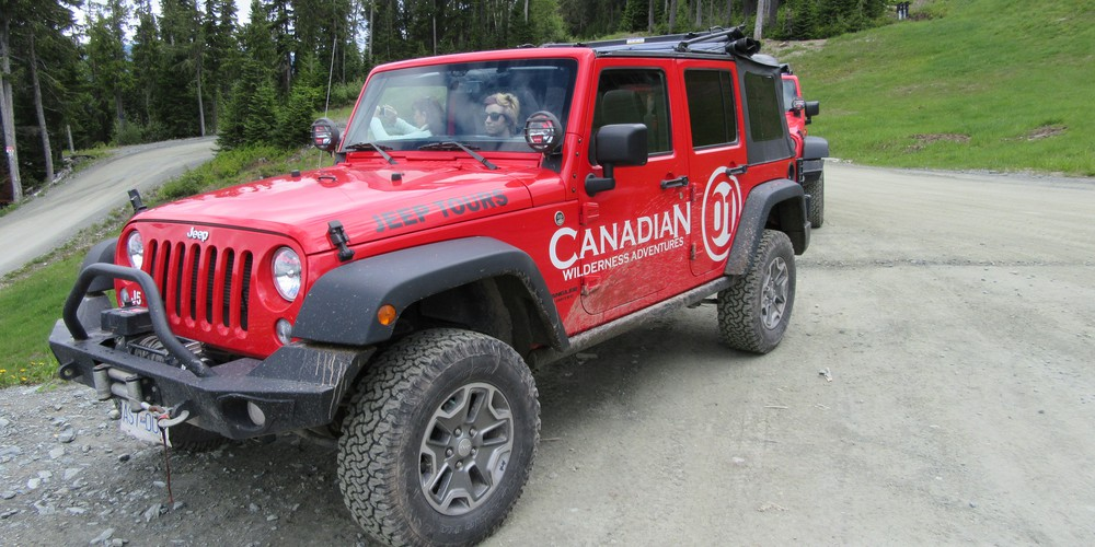 Jeep Tour Whistler - British Columbia - Canada - Doets Reizen