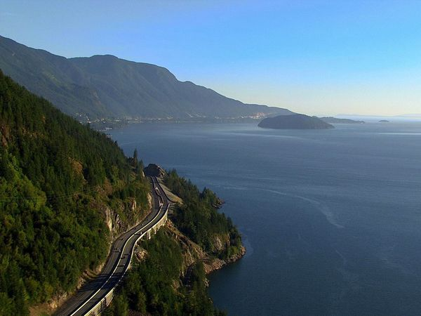 Sea to Sky Highway - Whistler - British Columbia - Canada - Doets Reizen