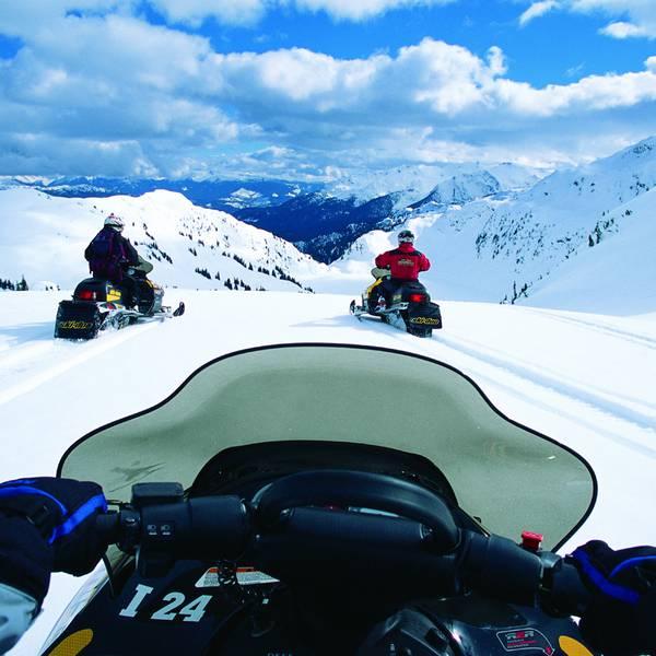 Wintersport - Sneeuwscooter - Whistler - British Columbia - Canada - Doets Reizen