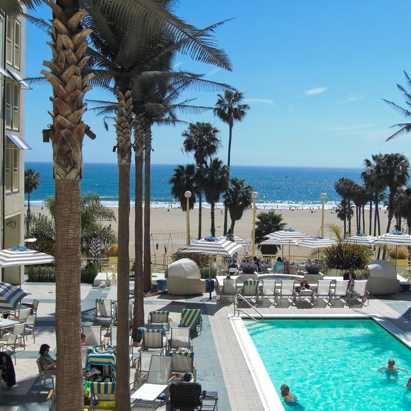 Loews Santa Monica Beach - zwembad