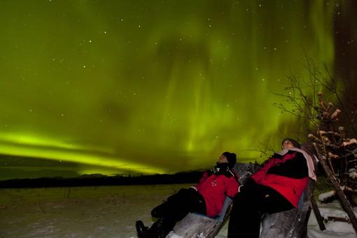 Noorderlicht in Yukon