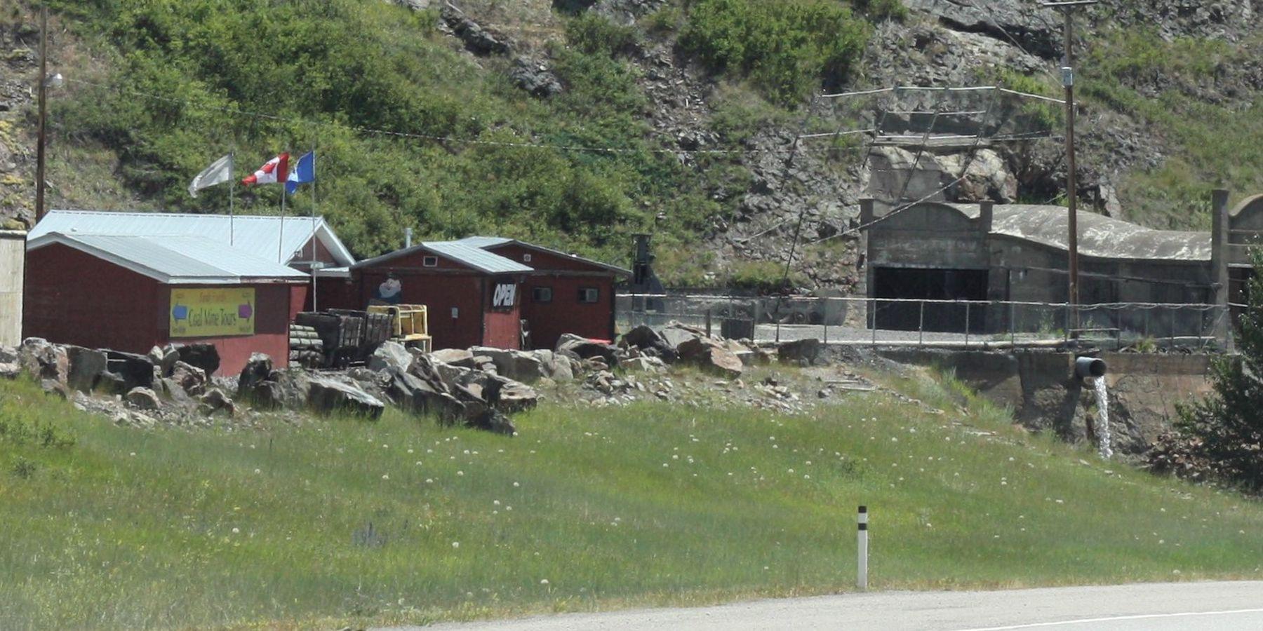 Bellevue Mine - Alberta - Canada - Doets Reizen