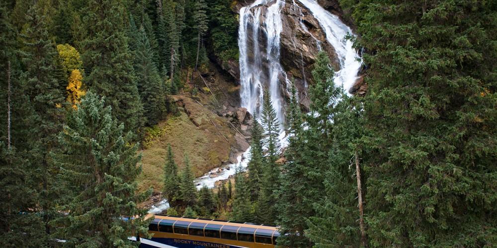 Pyramid Falls - Treinreizen - Rocky Mountaineer - Canada - Doets Reizen