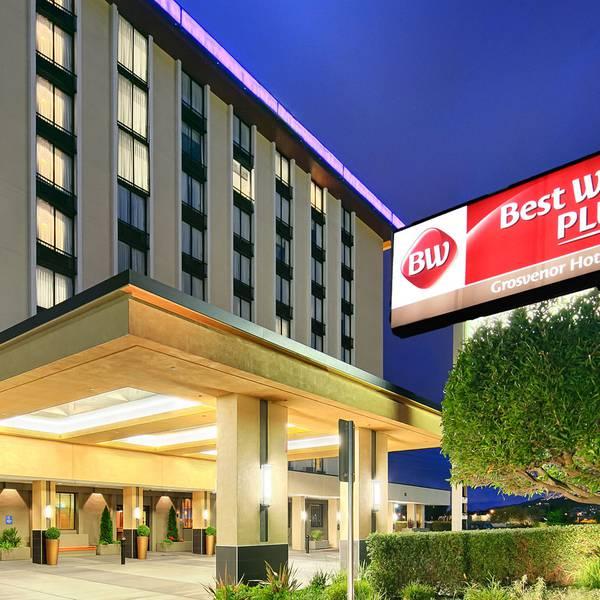 Best Western Plus Grosvenor Hotel - vooraanzicht