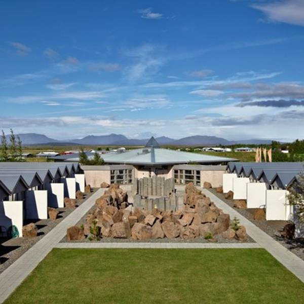 Fludir Icelandair Hotel - tuin