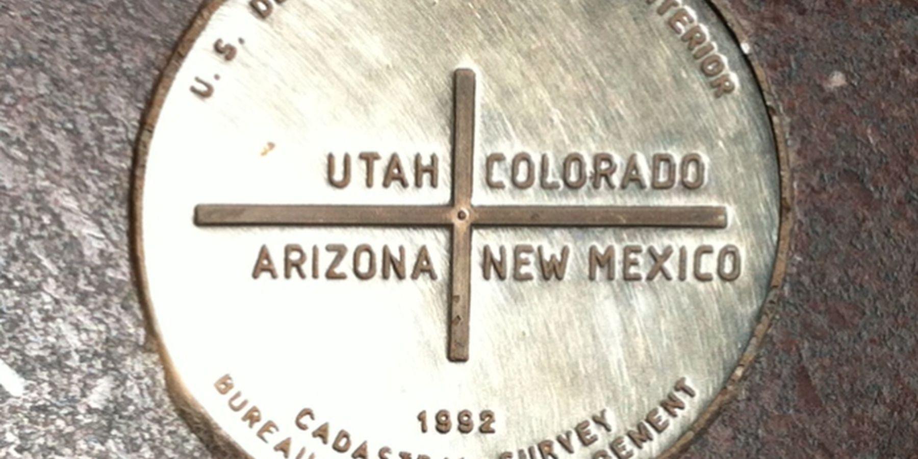 Four Corners Monument - Arizona -  Doets Reizen