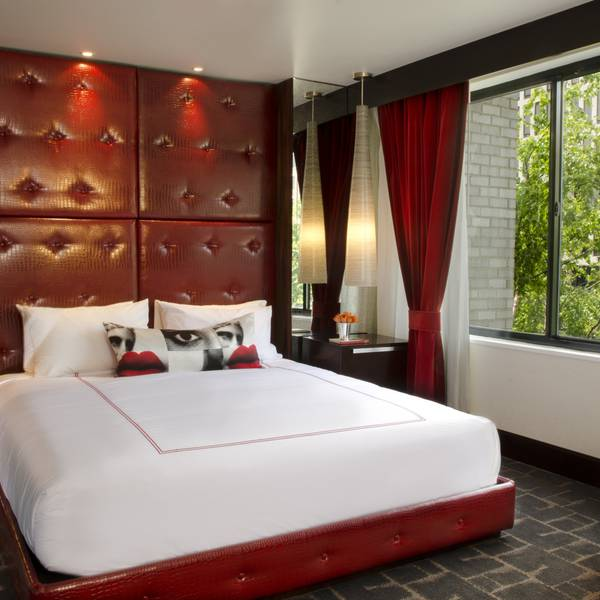 Hotel Rouge - kamervoorbeeld