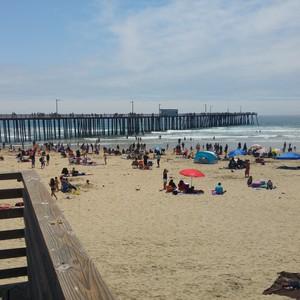 Zondag 29 mei Pismo Beach - Dag 20 - Foto