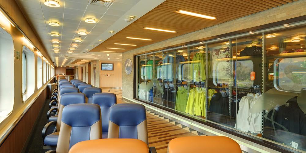 Aan boord van de Inside Passage BC Ferries in Canada.