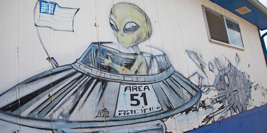 Area 51 - Nevada - Doets Reizen