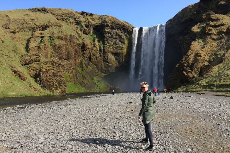 Skógafoss Waterval - IJsland - Doets Reizen
