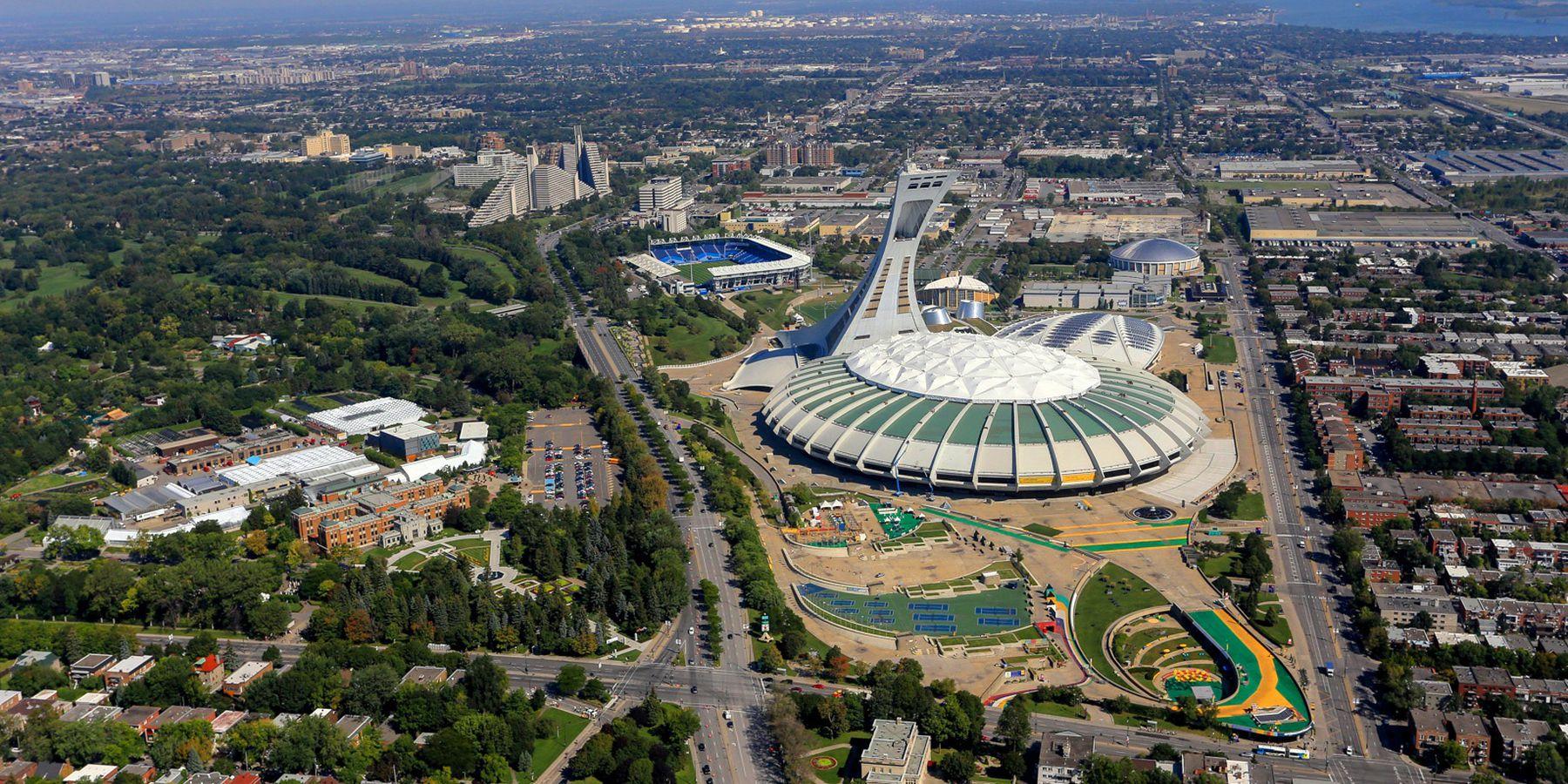 Olympic Park - Montreal - Quebec - Canada - Doets Reizen