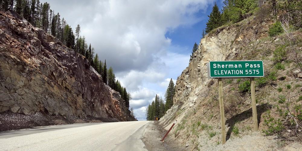 Sherman Pass - Dead Valley - California - Amerika - Doets Reizen