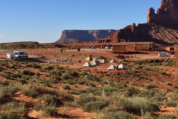 Camping - Monument Valley - Utah - Doets Reizen