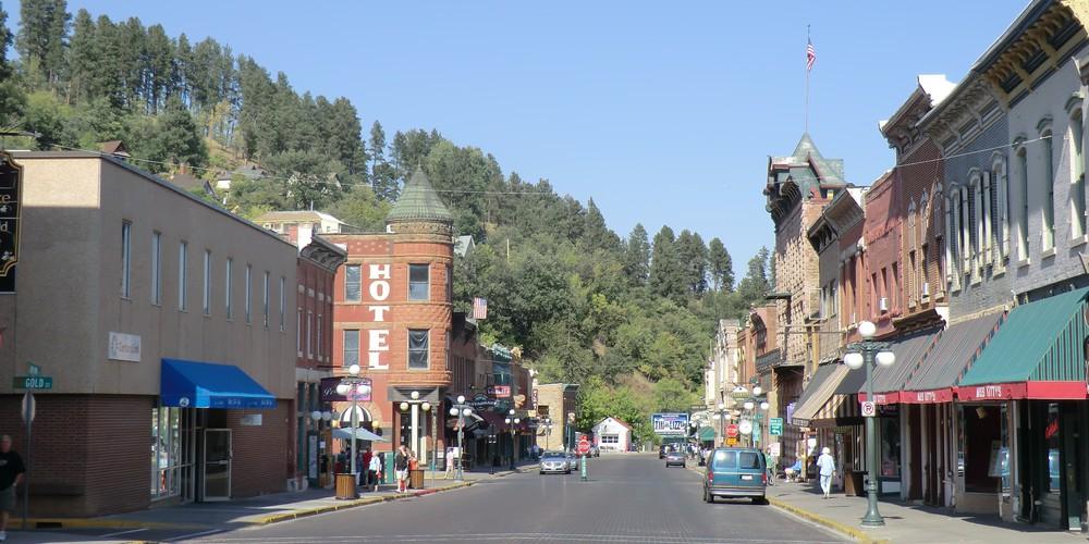 Deadwood - California - Amerika - Doets Reizen