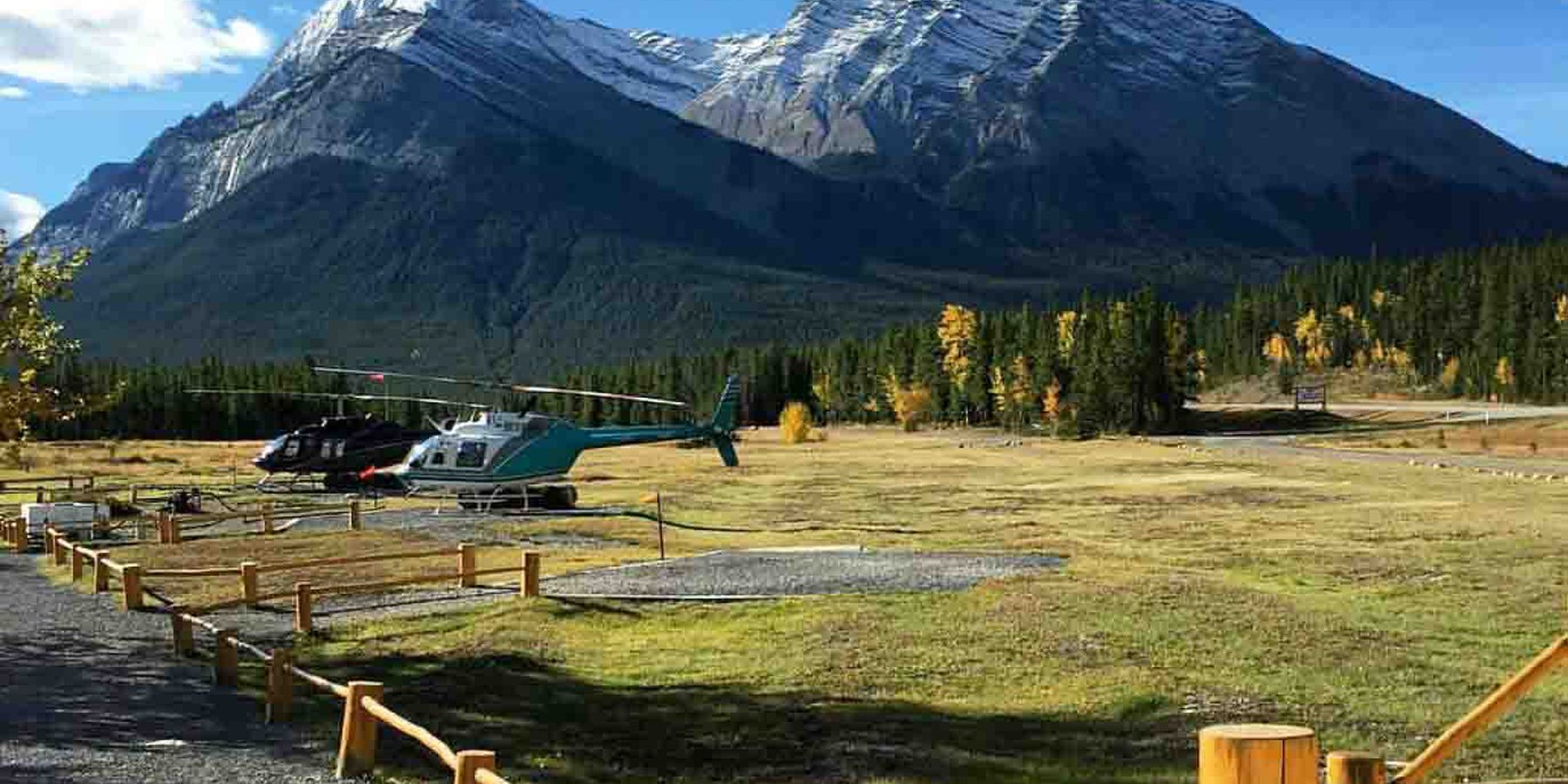 Cline River Heliflights - Icefields Parkway - Alberta - Canada - Doets Reizen