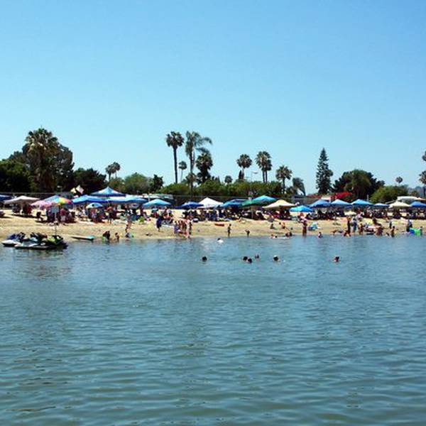 Mission Bay RV Resort, strand