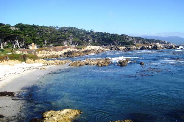 17 Mile Drive tussen Monterey en Carmel in California