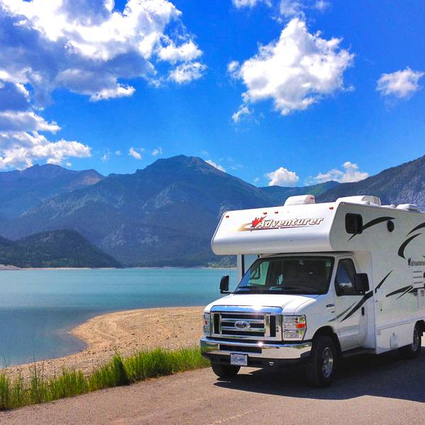 Onderweg met Fraserway RV in West Canada