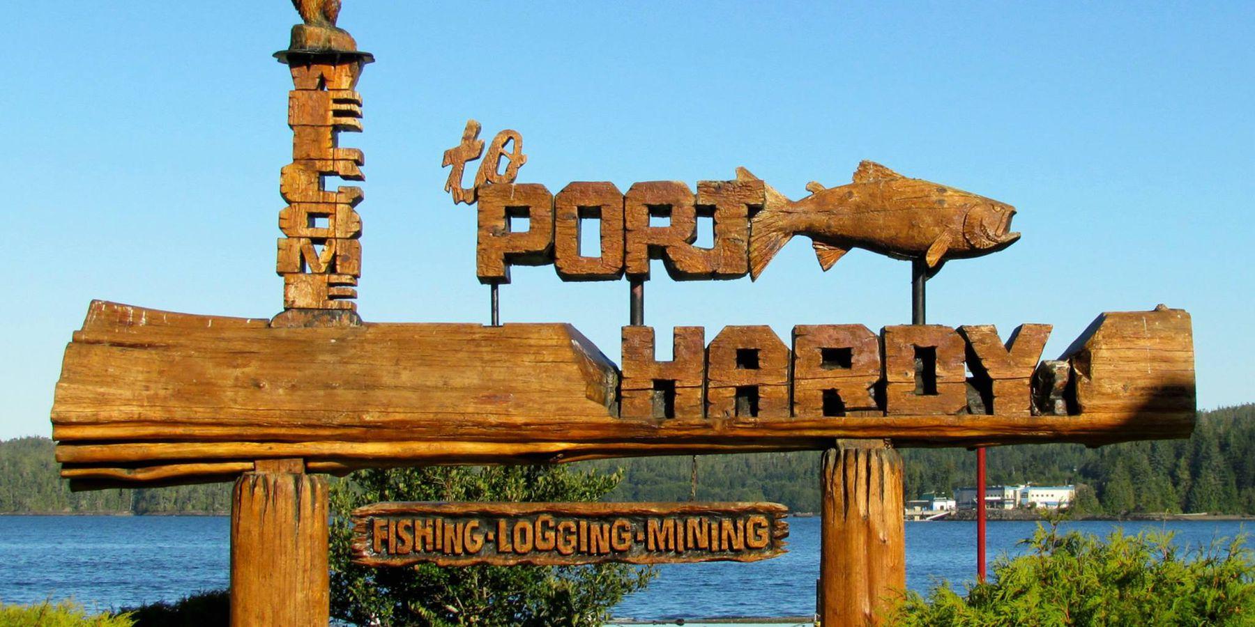 Port Hardy - Vancouver Island - British Columbia - Canada - Doets Reizen