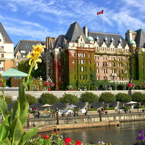 Fairmont Empress Hotel Victoria - buitenkant