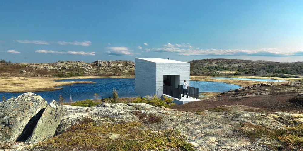 Bridge Studio - Fogo Island - Newfoundland & Labrador - Canada - Doets Reizen