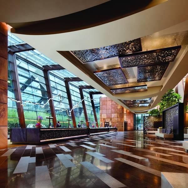 Aria Resort - lobby