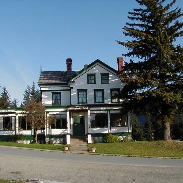 Hotel Halsingland - uitzicht