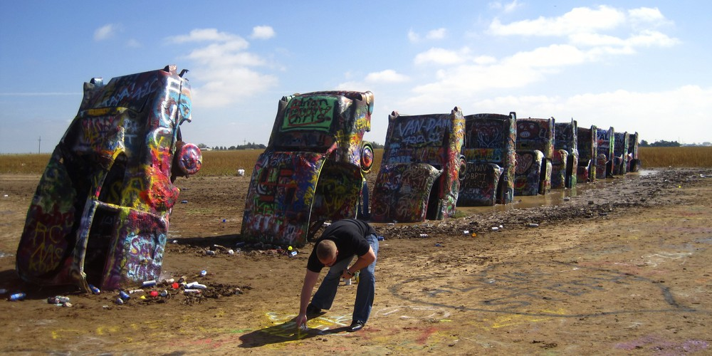 Amarillo - Route 66 - Texas - Doets Reizen