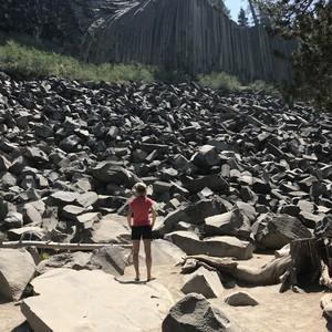 Mooi maar rokerig ten oosten van Yosemite - Dag 20 - Foto