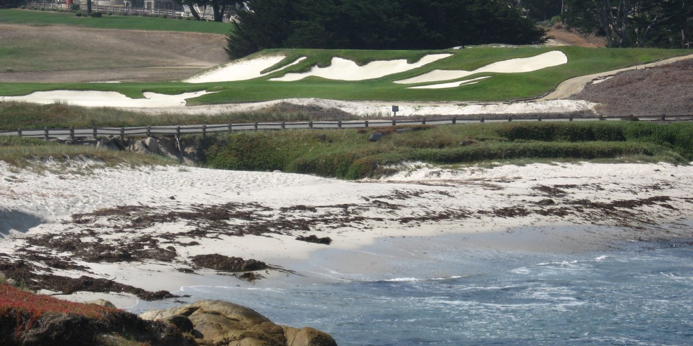 Pebble Beach Golf Course 17 mile drive Carmel California