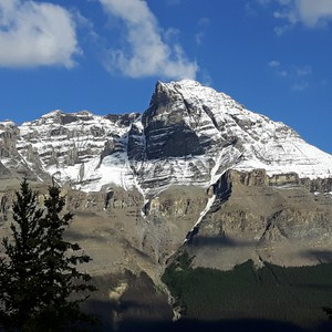 Van Jasper naar The Crossing over de Icefields Parkway - Dag 18 - Foto