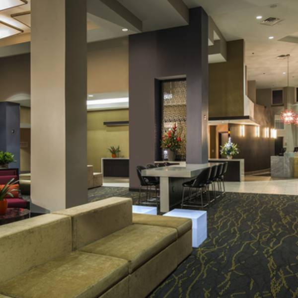 Hilton Cocoa Beach Oceanfront - lobby