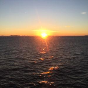Laatste dag op zee - Dag 21 - Foto