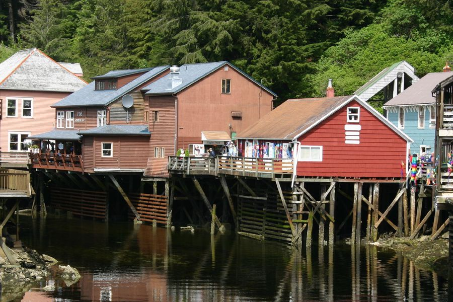 Ketchican - Alaska - Doets Reizen
